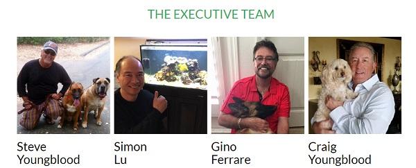 PetClub 247 executive team