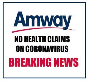 amway coronavirus references