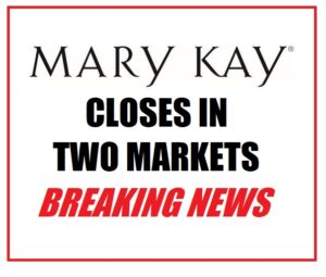 mary kay closes in australia and new zealand