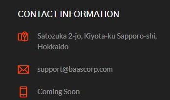 Baascorp contact