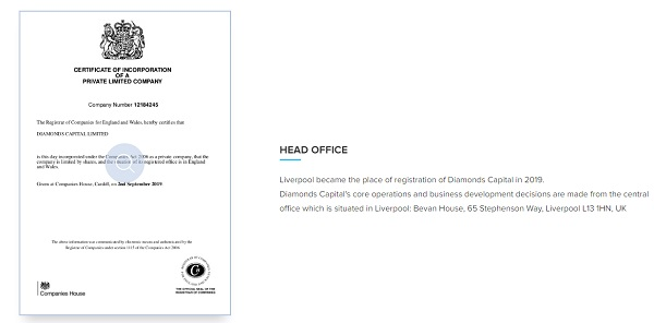 Diamonds capital limited
