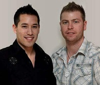 Kyle Loudoun and Carson Lim