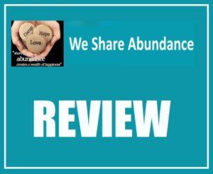 We Share Abundance reviews