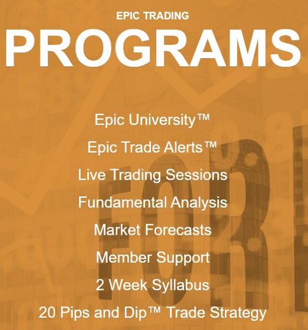 Epic Trading Programs