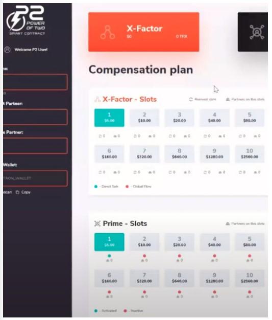 Prime compensation plan