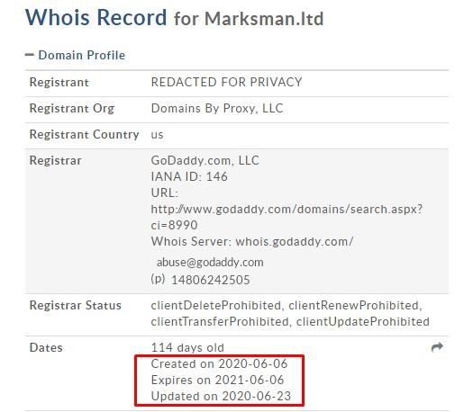 marksman ltd domain
