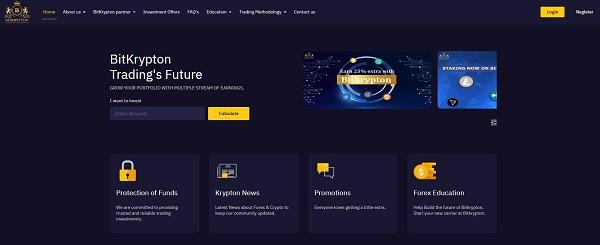 Bitkrypton website