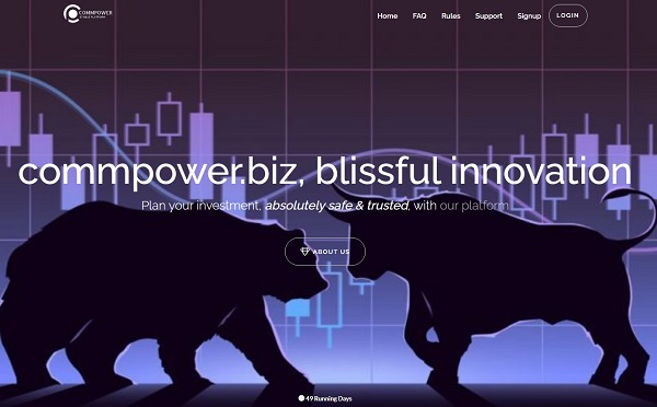 Commpower biz website