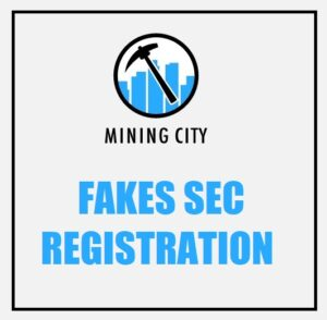 Mining City sec fake registration