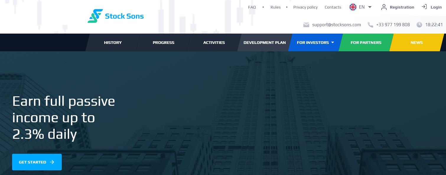 Stock Sons company
