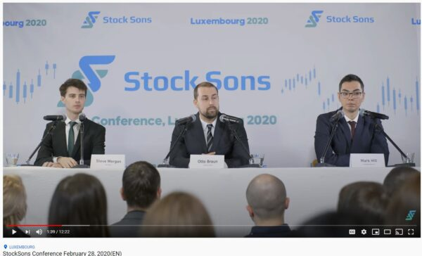 StockSons Conference