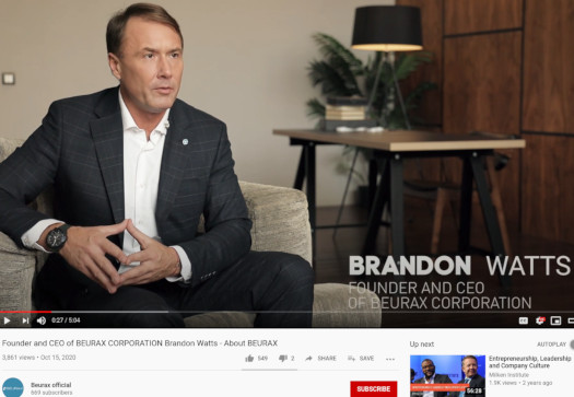Beurax ceo brandon watts