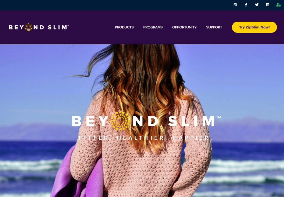 Beyond Slim website