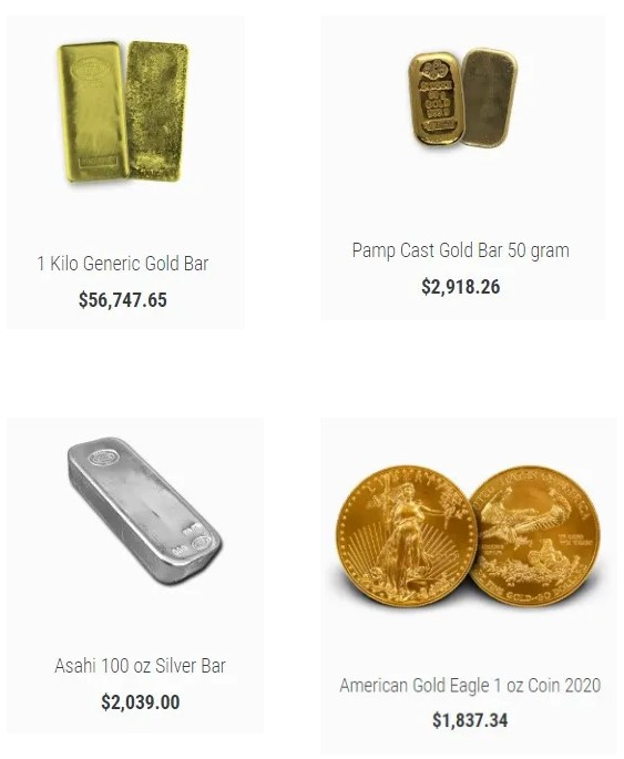 7K metals products