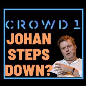 Crowd1 Johan von holstein steps down