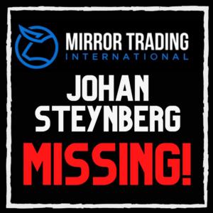 MTI Johan Steynberg missing