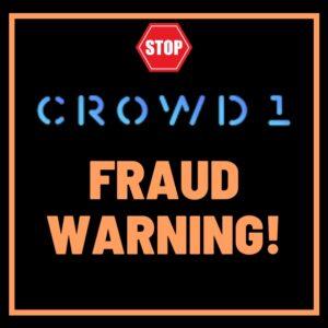 crowd1 securities fraud warning slovakia and hungary