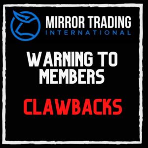 Mirror Trading International clawbacks