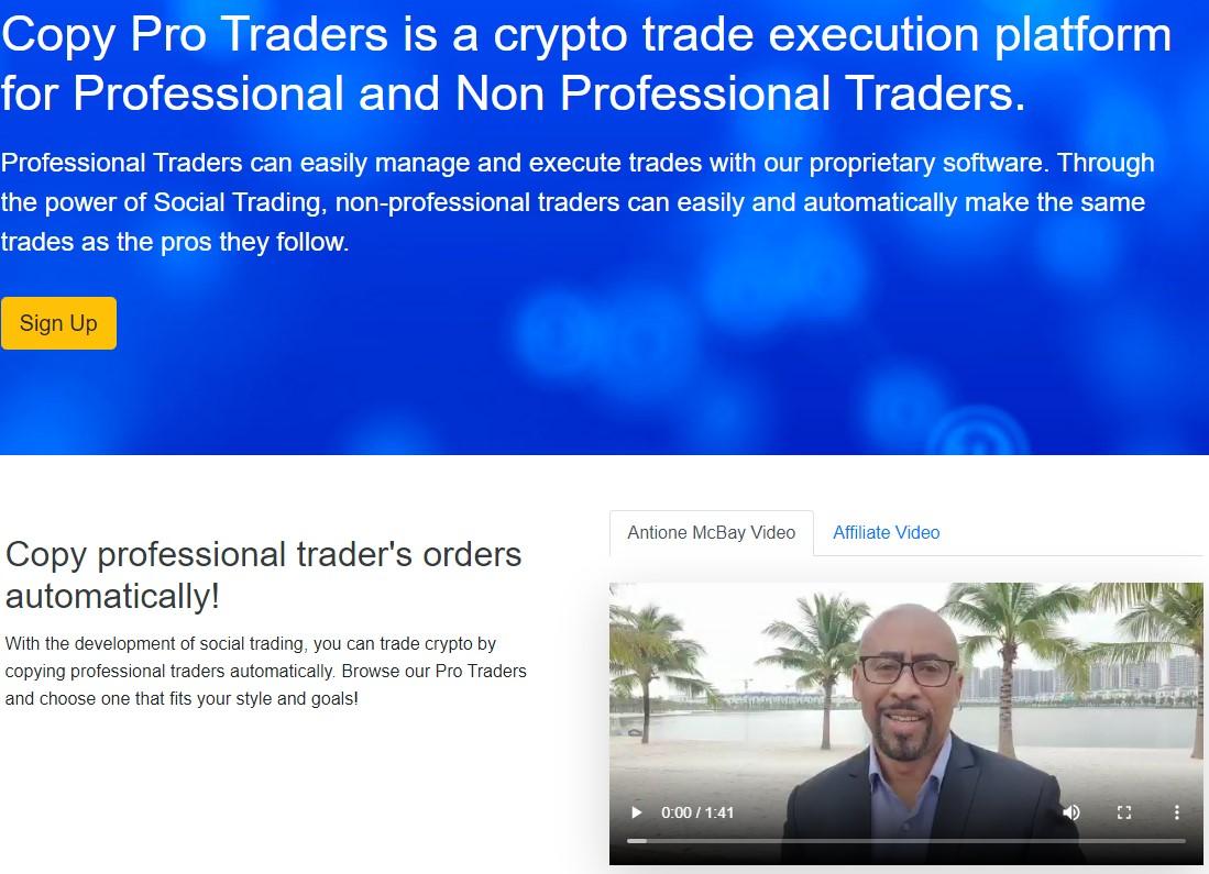 Copy Pro Traders scam