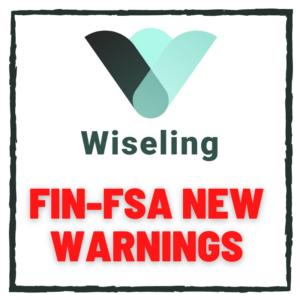 Wiseling FIN-FSA new warnings