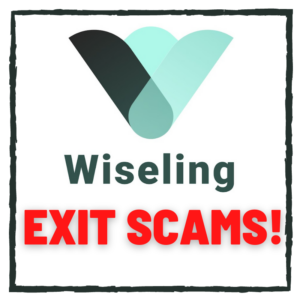 Wiseling exit scams