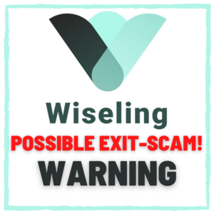 Wiseling possible exit scam warning
