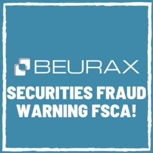 beurax fsca securities fraud warning