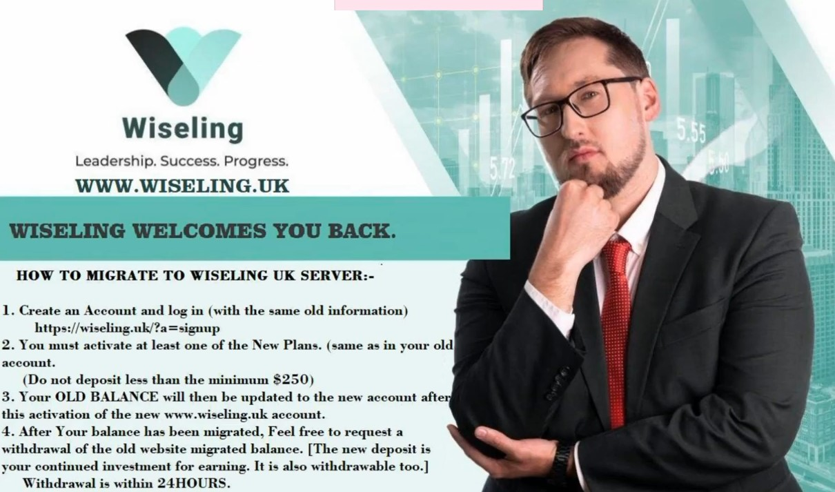 Wiseling UK investment