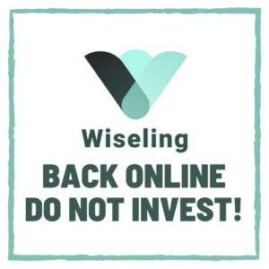 Wiseling back online