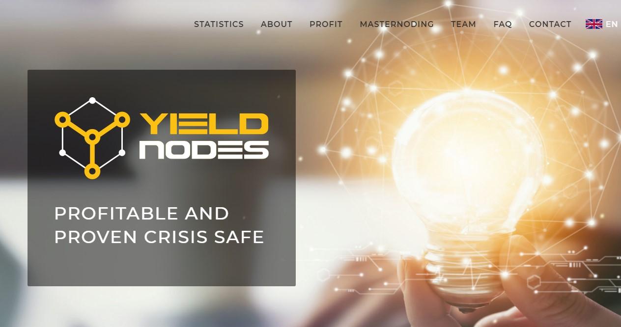 Yieldnodes website
