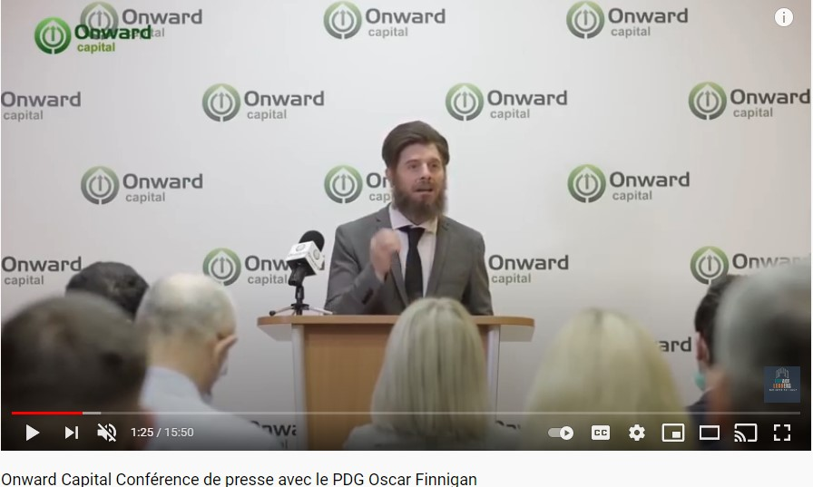 onward capital press conference