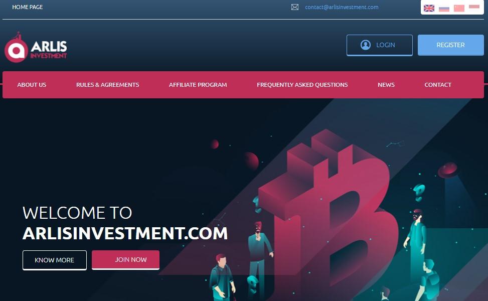 Arlis investment scam