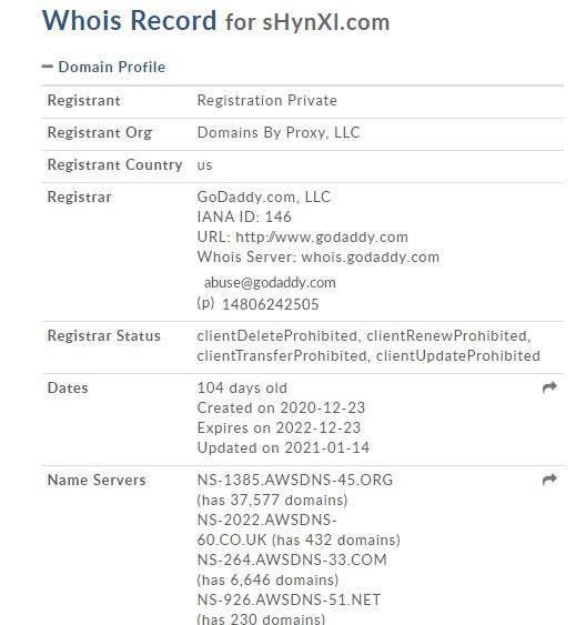 Shynxl domain
