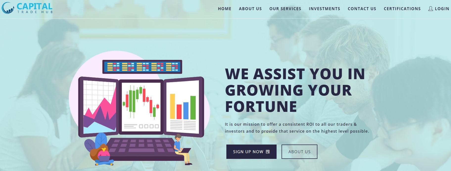 Capital Trade Hub scam