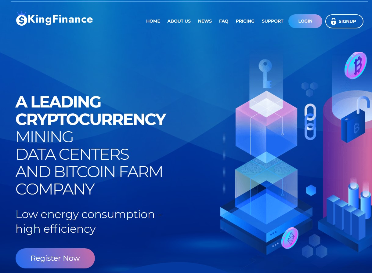 king finance trade scam